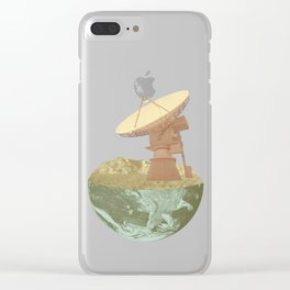 They're Out There Clear iPhone Case