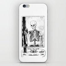 Skelfie iPhone & iPod Skin