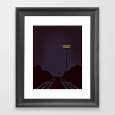 Road Trip Framed Art Print