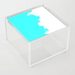 Shiny Turquoise balance Acrylic Box