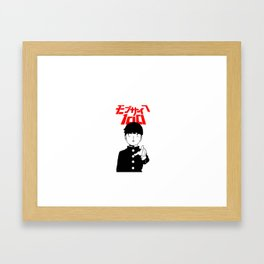 Mob Psycho 100 v1 Framed Art Print