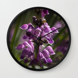 Orchid #1 Wall Clock