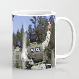 At NASAs Protective Services Training Academy at Kennedy Space Center in Florida a member of the Eme Coffee Mug
