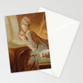 The Love Letter,  Jean Honore Fragonard, 1770s Stationery Cards
