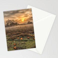 Pumpkins At Dusk Stationery Cards