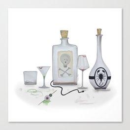 Halloween Cocktails II Canvas Print
