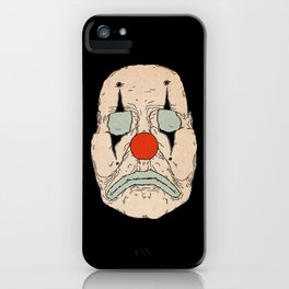 Clown Face #1 iPhone Case