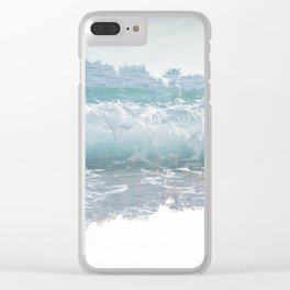 Ephemeral (Wanderlust) Clear iPhone Case
