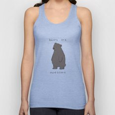 Bears are Awesome  Unisex Tank Top