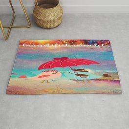 In Love With A Beautiful World Rug