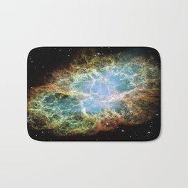 Crab Nebula Bath Mat
