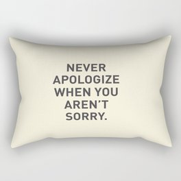 Motivational Rectangular Pillow
