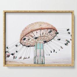 Mushroom Carousel Serving Tray