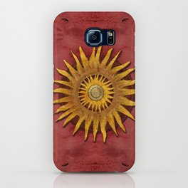 """""""Aztec Sun and pickled coral"""" iPhone Case"""
