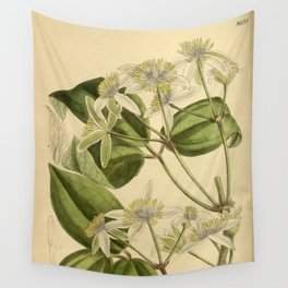 Clematis pavoliniana Wall Tapestry