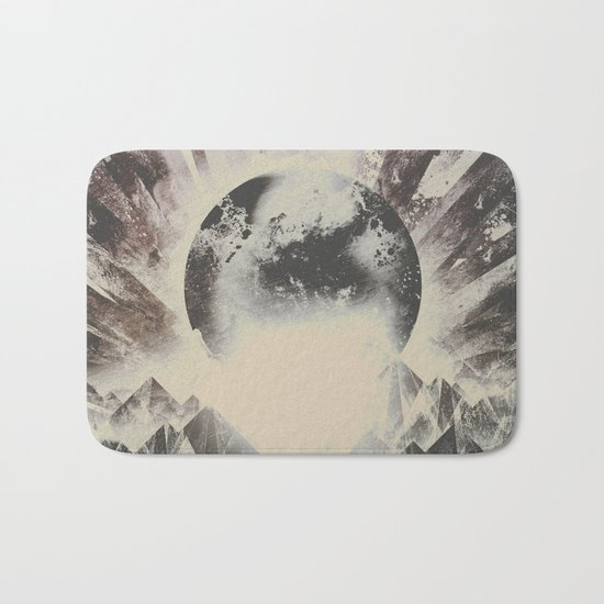 New day new mountains to climb Bath Mat