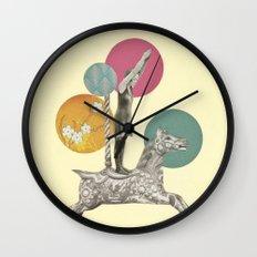 Runaway Horse Wall Clock