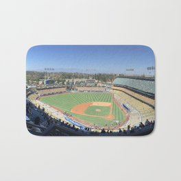 Dodgers Stadium Bath Mat