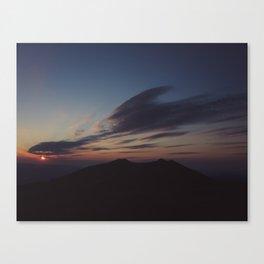 Bieszczady Canvas Print
