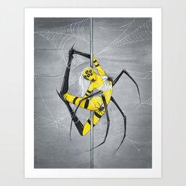 Poletober - Spider Art Print