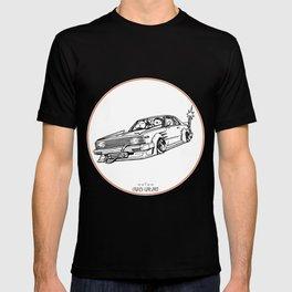 Crazy Car Art 0099 T-shirt