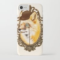 mr fox iPhone & iPod Cases featuring Mr Fox by mattdunne