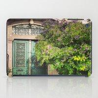 door iPad Cases featuring door by gzm_guvenc