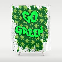 Go Green Shower Curtain