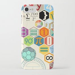Math in color iPhone Case