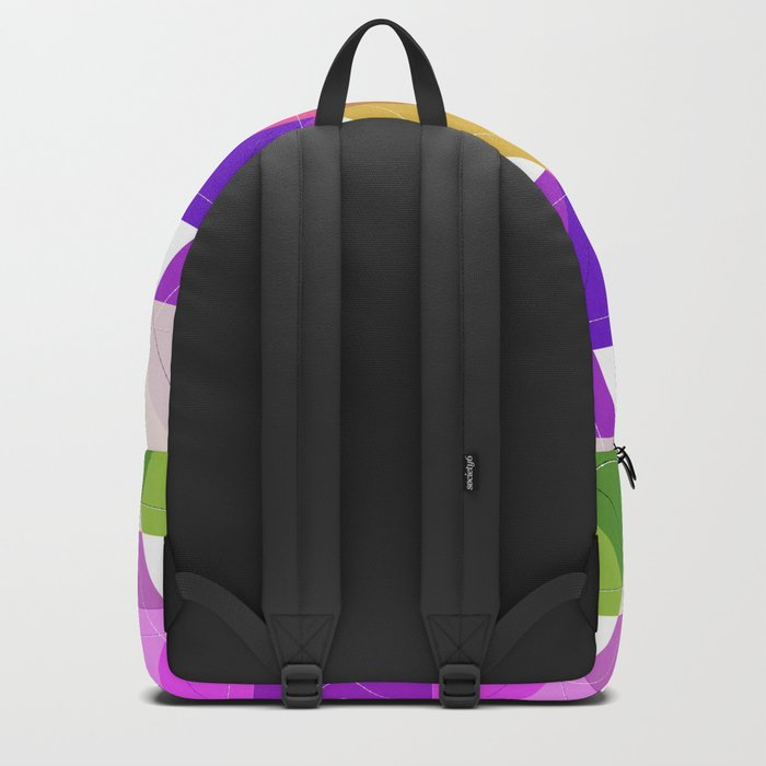 Abstract painting 14 Backpack