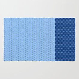 blue dots duo Rug