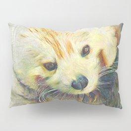 Artistic Animal Red Panda Pillow Sham