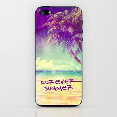 FOREVER SUMMER - FOR IPHONE iPhone & iPod Skin