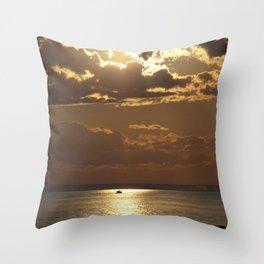 Awesome Sea Scene Throw Pillow