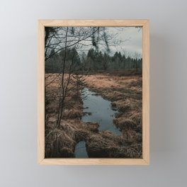 High Fens Framed Mini Art Print