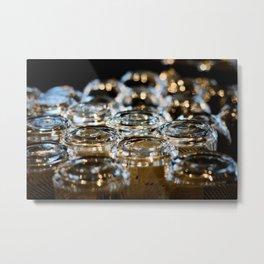 Glassware, there Metal Print
