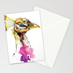 Sunset Peacock Stationery Cards