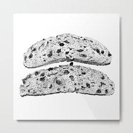 2 pieces of toast Metal Print
