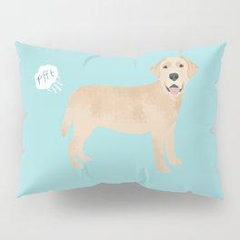 Yellow Lab funny fart dog breed gifts labrador retrievers Pillow Sham