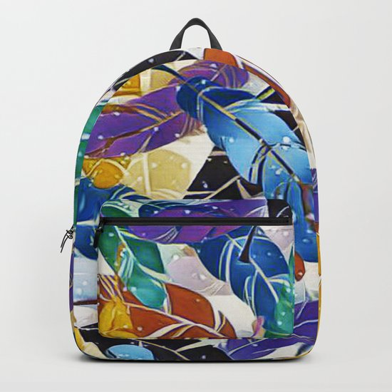Fabulous Feathers Backpack