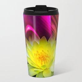 Flower Magic -Water lily Travel Mug