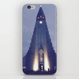 Hallgrímskirkja church iPhone Skin