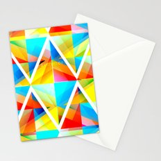 Summer Triangles Stationery Cards