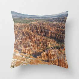 The Bryce Amphitheatre Throw Pillow