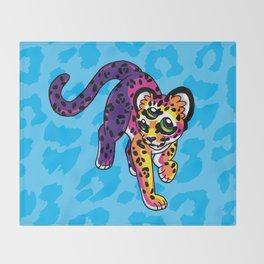 Oracular Leopard Cub Throw Blanket