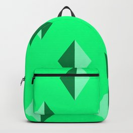 Geometry No. 2 -- Seafoam Backpack