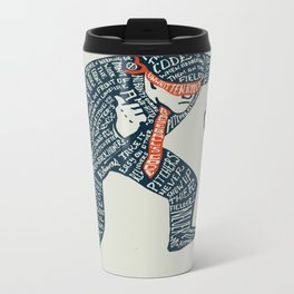 The Code Metal Travel Mug
