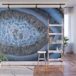 Blue Flower in Bloom Agate 3103 Wall Mural