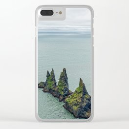 A Knife In The Ocean Clear iPhone Case