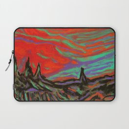 Sunset Forest Laptop Sleeve